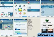 Windows Live Messenger Theme For Sony Ericson