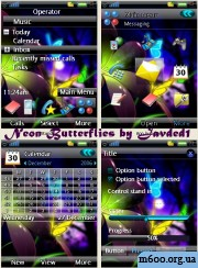 Neon_Butterflies by Javded1