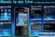 Music is my Live by Eldorado Theme ART