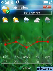 gismeteo 2.00(1) full version