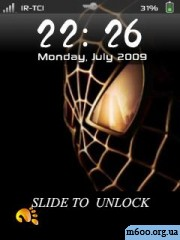 Spider Man skin for IphoneLock