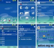 NOKIA Default for UIQ3 by Eldorado Theme ART
