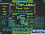 New Walkman Neon Style by DjBabushkinbda